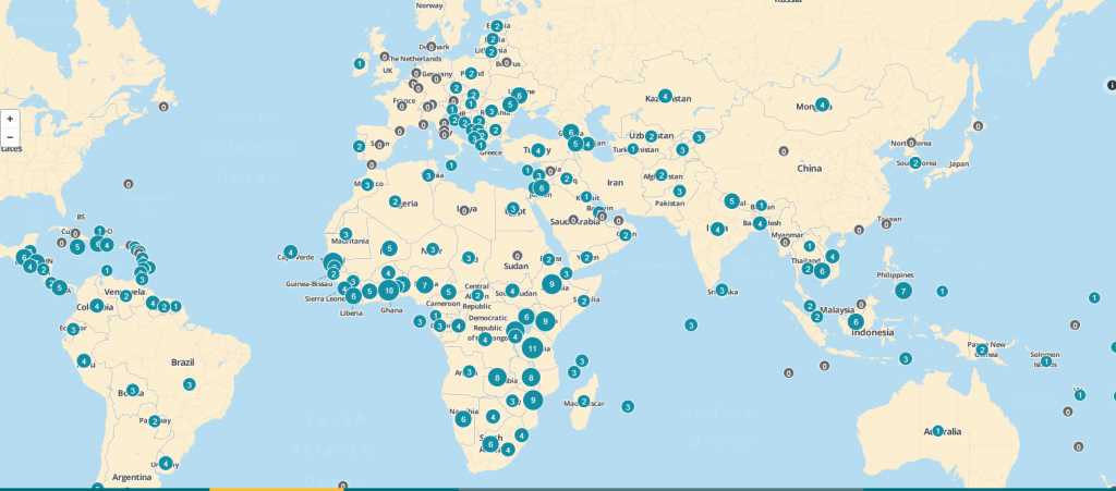 CGD map