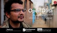 Open Data Nepal film poster