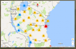 Transparency And Development Data In Tanzania Publish What You Fund - Where is tanzania located